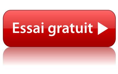 """Bouton """"ESSAI GRATUIT"""" (offre spéciale internet web échantillon)"""