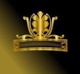 insigne doré design