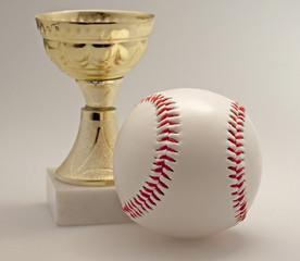 Baseball and cup