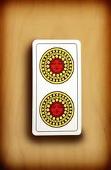 Coins card