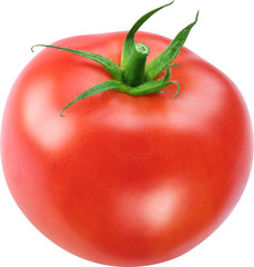 Image of tomato on white background.