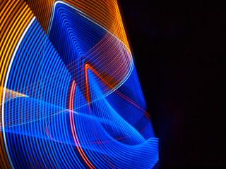 Lightpainting Textur