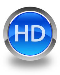hd blue button