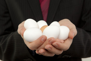 Dioxin in Nahrungsmitteln Eier