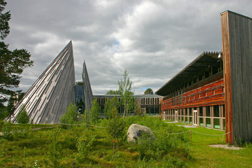 The Sami Parliament in Karasjok