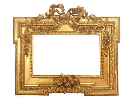 cadre baroque doré