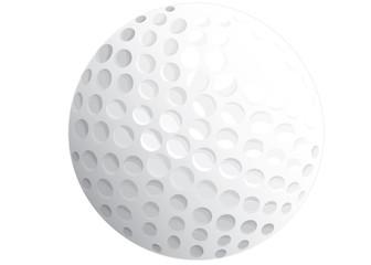 Golfball weiß