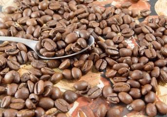 Poster Coffee bar Coffee beans