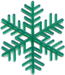 snowflake plastic toy was released in the 70s of last century