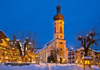 Winterstimmung  in Reit im Winkl Chiemgau