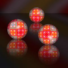Fractal balls