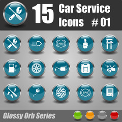 Car Service Icons #01
