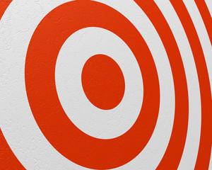 practice target closeup