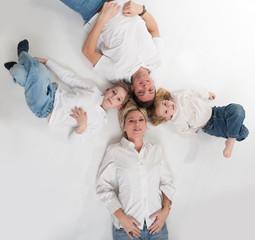 Happy family circle