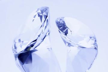 Diamonds on mirror