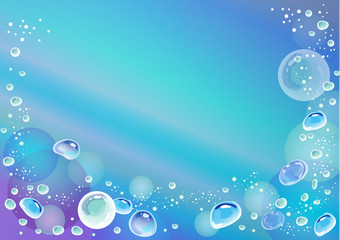 sea bubbles ocean