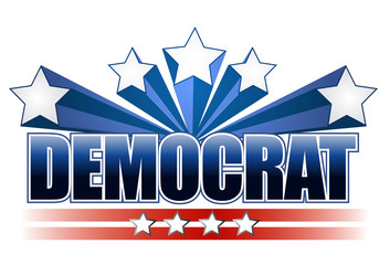 Democrat sign