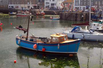 cornish fishing town