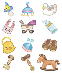 cartoon babyicon