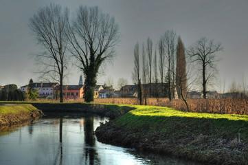 inverno paesaggio 1520