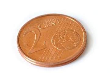 pièce de  2 cts d'euros