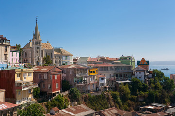 Area of Valparaiso, Chile