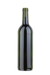 Weißweinflasche, freigestellt