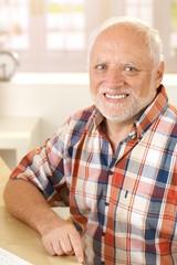 Portrait of smiling senior man