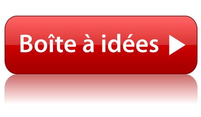 """Bouton Web """"Boîte à idées"""" (suggestions imagination vote)"""