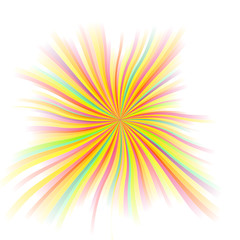 beautiful rays, vector abstract background