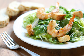 Shrimp Ceasar Salad