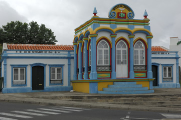 Heiliggeistkapelle auf Terceira