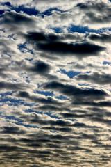 Nubes en cielo nublado