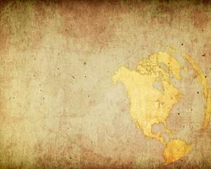 aged America map