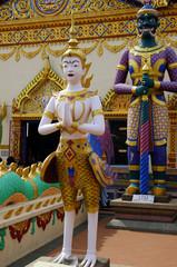 Ancient temples of island Penang