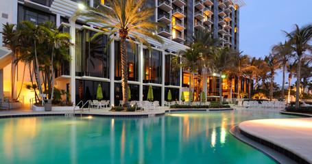 Fototapeta Resort Swimming Pool obraz
