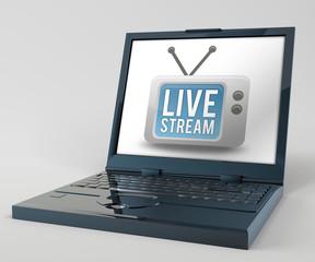 "Notebook ""Live Stream"""