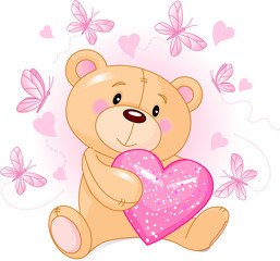 Teddy Bear with love heart