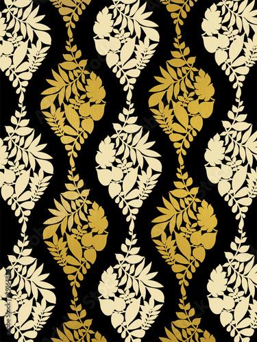 tapete schwarz gold stockfotos und lizenzfreie bilder auf bild 29164884. Black Bedroom Furniture Sets. Home Design Ideas