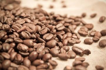 Door stickers Coffee beans Coffee beans