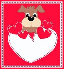 valentines day or birthday card