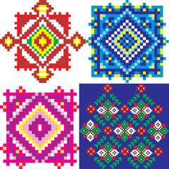 Ethnic Ukraine pattern. Vector art-illustration.