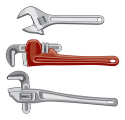 Adjustable Plumbing and Pipe Wrenches