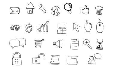 Internet Doodle Icon