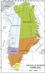 Grönlandkarte