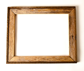 Cypress wooden picture frame