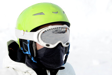 snowboard helmet