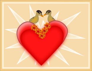 Valentine's Duck