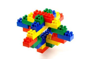 toy building blocks – a sculpture