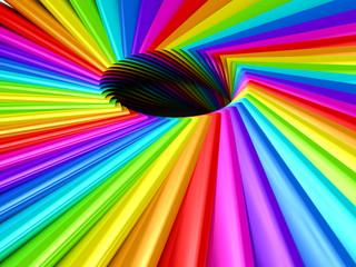 Color palette over background